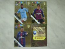 PANINI FIFA 365 2019 LIMITED PREMIUM GOLD SET 4 CARDS COUTINHO,MBAPPE,STERLING..