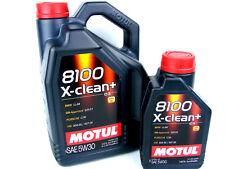 Motul 8100 X-CLEAN + 5w-30 ACEITE DE MOTOR 5w30 Gasolina Diesel 1x 6 Liter