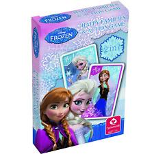 Disney Frozen familles heureuses jeu de cartes