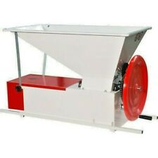New listing Italian Crusher Destemmer - Manual, Painted easy-to-clean grapes fall through