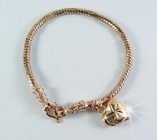 Jewelry 1 Micron Gp Bracelet Bangle 22K 23K 24K Thai Pink Gold Plated