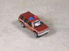 N Scale 1997 Bronze Sheriff K9 Suv Truck