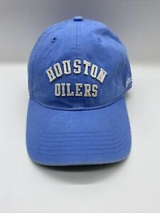 Reebok Houston Oilers AFL 50th Anniversary Adjustable Slouch Cap - 2009