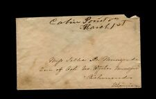 """Confederate """"Cabin Point Va. March 1st"""" to Col. George Wythe Munford, Richmond"""