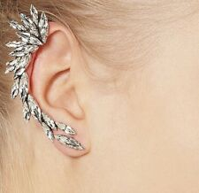 Spike Silver Ear Cuff Clip Earring