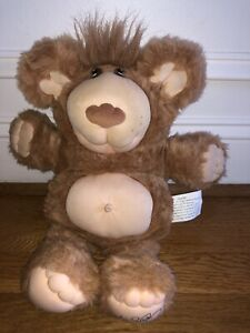 "Persimmon Furskins 14"" Plush Stuffed Bear Xavier Roberts 1985"