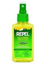 Repel Lemon Eucalyptus 100% Natural Insect Bug Mosquito Repellent Spray Pump 4oz