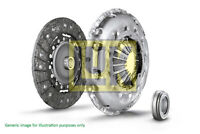 Clutch Kit 3pc (Cover+Plate+Releaser) fits FORD CORTINA Mk2 1.6 1970 KL16G LuK