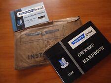 Triumph Herald Owners Handbook - Regular Maintenance Voucher Book + Wallet
