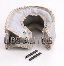 T4 Silver Turbo/Turbocharger Heat Shield Blanket charger Cover Wrap T70 Garrett