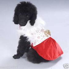 NEW PAW APPEAL DOG PUPPY PET Holiday SNOWFLAKE PRINCESS Christmas  DRESS Large