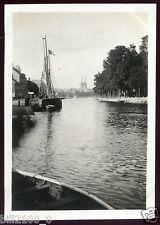 Quimper . Bretagne . Finistère . photo ancienne . 1918