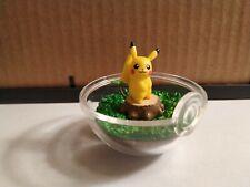 """Pokemon Terrarium Collection 1 Re-Ment - PIKACHU 2.5"""" Figure Let's Go Detective"""