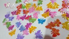 50pcs - Mixed Colour Shiny Butterflies