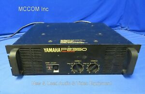 Yamaha P2350 2 Channel Stereo Power Amplifier