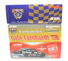 3 Dale Earnhardt #3 Goodwrench Stock Car 1:24 Die Cast Action 50th Anniversary