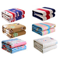 Electric Heated Blanket 150*70cm 220V Cotton Warm Pad Winter Blanket