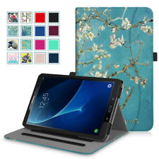For Samsung Galaxy Tab A 10.1'' 2016 Tablet Multi-Angle Folio Case Cover Stand
