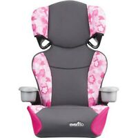 Kids Convertible 2In1 Car Seat Baby Toddler Highback Booster Safety Travel Chair