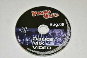 Promo Only Dance Mix Music DVD Video Disc Only (No Case) August 2008