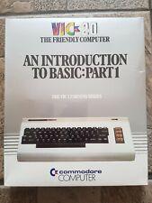 Commodore vic20 Benutzerhandbuch Basic Part 1 in Englisch