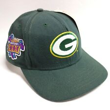 Vtg 90s Super Bowl XXXI Green Bay Packers Snapback Hat American Needle NWT New