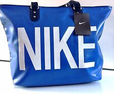 New Womens Ladies Nike Handbag Tote Bag School Work Gym Holiday Blue Bag SALE!!!