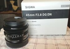 Sigma 45mm F/2.8 DG DN (for Leica L mount)