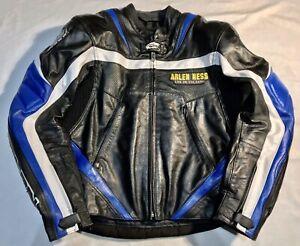 ARLEN NESS LJ-3179 Leather Motorcycle Motorbike Biker Jacket Size Uk 38 / EU 48