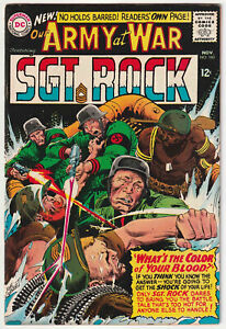 Our Army at War #160 VG/F 5.0 Nice DC War Comic Book Sgt. Rock Easy Co. Kubert