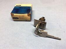 NOS 1972-74-76 FORD THUNDERBIRD DOOR LOCK CYLINDER & KEYS PART #D4SZ-6521984-A