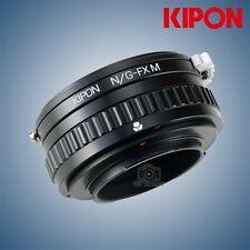 New Kipon macro helicoid adapter for Nikon G lens to Fuji X-Pro2 X-T2 Fujifilm