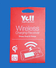 QI Wireless Charger Charging Receiver PadTag for Samsung Galaxy S3 III i9300-NEW