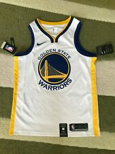 NIKE GOLDEN STATE WARRIORS JERSEY NBA M 903989-100 SWINGMAN Basketball NEW