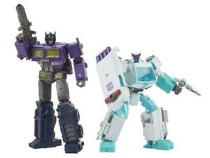 Transformers Generation Selects Shattered Glass Optimus Prime & Ratchet IN STOCK
