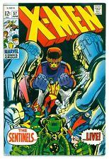 1)X-MEN #57(6/69)'2nd HAVOK w/o COSTUME'(THOMAS/ADAMS)SENTINELS(CGC IT)(8.5/9.0)