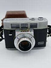 Kodak Vintage Automatic 35 Camera Automatic Flash Shutter w/ Field Case