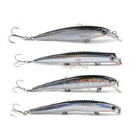 4 X Saltwater Popper Plug Minnow Surface Lures 5″ Sea Fishing Lure Bass Pike GT