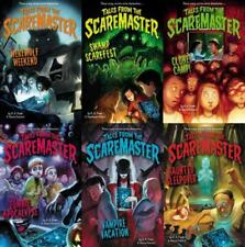 TALES FROM THE SCAREMASTER Children's Haunted Book Series Collection Set 1-6