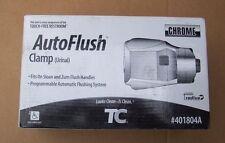 Rubbermaid TC 401804A Polished Chrome Auto Flush Clamp Urinal fits Sloan & Zurn