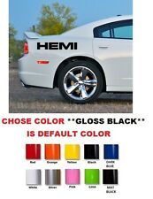 (#347) DODGE RAM CHARGER CHALLENGER R/T RT HEMI DECALS STICKERS 13.5""