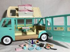Calico critters/sylvanian families VW Camper Van With Accessories