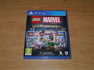 Lego Marvel collection Game for Sony PS4 Playstation 4
