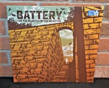 BATTERY - For the Rejected by the Rejected, Ltd BLUE VINYL LP + DL & Booklet NEW