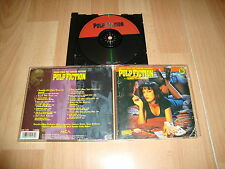 PULP FICTION A QUENTIN TARANTINO MUSIC CD THE ORIGINAL MOTION PICTURE SOUNDTRACK