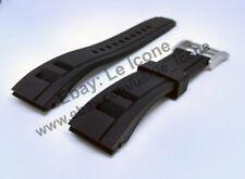 Comp. Seiko Velatura SNP101p2 SRH019p1 SRH024p1 Black Rubber 22mm Band / Strap