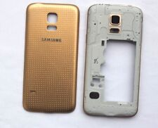 Gold Mid-frame Camera Bezel Battery Case Cover For Samsung Galaxy S5 Mini G800