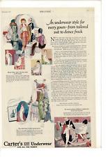 NOV 1920 LADIES' HOME JOURNAL CARTER'S KNIT UNDERWEAR CHILDREN MOM AD PRINT G598