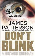 JAMES PATTERSON ___ DON'T BLINK ___ BRAND NEW ___ FREEPOST UK