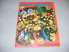 1973 SPACE FANTASIES Vol. No. 1 Comic Fanzine Frazetta Crandall Brunner FN